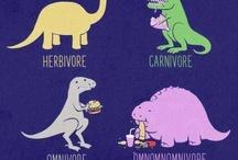 Dinosaurs RAWR!! / by Rebecca Flanagan