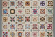 Quilt Lucy Boston Style Crosses / English Paper piecing