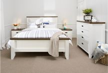 My Dream Super Amart Bedroom / Neutral colours with modern touches would make my Dream Super Amart bedroom feel like a sanctuary