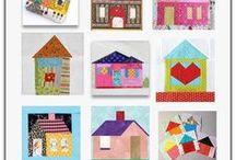 Haeuser Quilts, house quilts