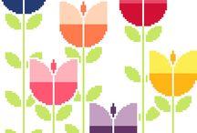 γεωμετρικα λουλουδια 3