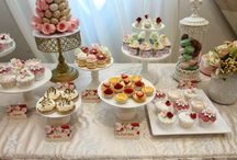 Sweet and cake tables
