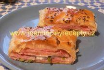 Recepty - slané, pečivo, quishe