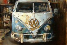 All Things on Wheels - Paintings and Photographs / by Gypsy