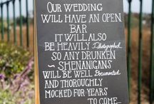 Wedding Signs & Love Quotes / inspiring quotes about love, funny wedding signs