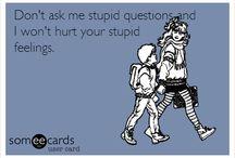 Stupid stuff for me