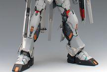 Mg 1/100 Rx-93 Nu gundam custom by grework ghost