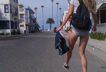 The Skateboard Girl