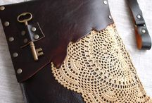 leather bag, tote