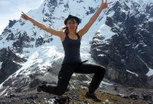 Salkantay Trek / Salkantay Mountain, Sallqantay in Quechua is the highest peak of the Cordillera Vilcabamba, part of the Peruvian Andes.