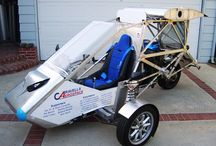 The CaravellAir® / The CaravellAir® integrates airplane, car and motorcycle components into one vehicle that is designed to drive, transform and fly. Roadable aircraft are real-life transformers!