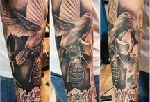 Lord Nelson - Sponsored Tattoo Artist / Lord Nelson, a tattooist in Chester UK. Here's his amazing work.