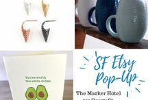 Artisan Market - Marker Hotel / Shop Curated Artisan Crafts by SF Etsy Artists at the Marker Hotel, San Francisco. The event will take place on Wednesday, May 23 from 5 p.m. to 8 p.m. in the Marker's elegant and newly renovated Bellevue ballroom.