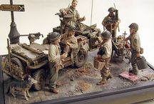 Models and minaratures and dioramas