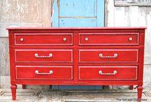 Furniture Row / Furniture to Refinish / by Kelli Gannon