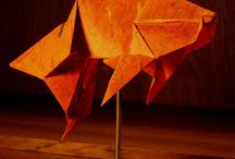 Origami / A place to see Mulberry Paper and More's origami papers in use.