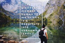 Travel Instagram quotes / motivation quotes for traveling / by TripMasters .