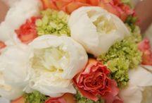 Orange Weddings and Flowers / Orange Wedding Ideas and Inspirations