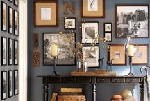 Gallery Walls / gallery wall ideas