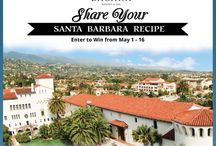 """Share Your Santa Barbara Recipe"" Contest / During the month of May, we invite our fans to celebrate with us the very essence of Santa Barbara County's authentically-local bounty. From avocados, exotic fruits and eggplants to hand-crafted honey, olive oil and bread, Santa Barbara lets you treat your palate to an unforgettable taste vacation. Enter to win your own vacation to Santa Barbara by submitting your best Santa Barbara inspired recipe. Create a dish that expresses what Santa Barbara means to you."