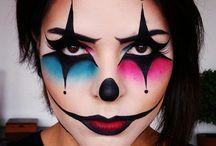 body paint facial