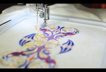 Sewing with Decorative Threads -Tutorials / How to use metallic threads on your home sewing machine or serger.