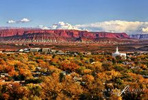 """Utah's Dixie"" - St. George & Surrounding Areas / The stuff that makes ""Utah's Dixie"" so incredible. Random landmarks, childhood haunts, and other stuff that gives me that nostalgic feeling passed down from my Mother...who, ironically, is NAMED Dixie!"