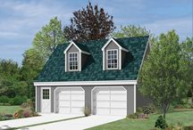 Garage Plans / by Jane Akers