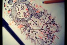 Zombie tattoo ideas