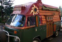 Caravans, cars and camping.