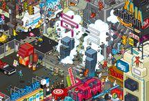 Pixel art / by Margot Go