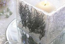 DIY { candles/ vases}
