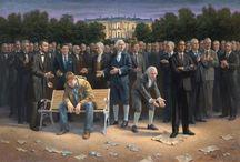 Jon McNaughton Paintings / The beautiful paintings of Jon McNaughton. Please visit his website at http://www.mcnaughtonart.com/.