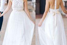 Wedding dress simple