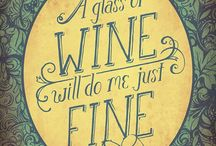 A glass of