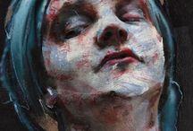 Portretten / Schilder inspiratie ArtEZ