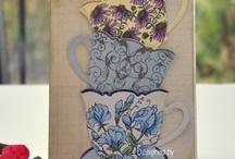 Cards - Tea cups