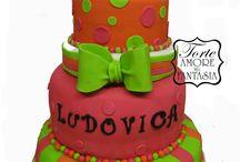 Cake Battesimo Sweet Cake / www.torteamorefantasia.com