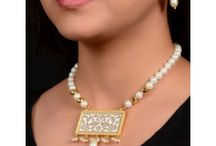 Jewelry / Has a collection of ethnic Indian Jewelry including tanjore, hand painting, thewa etc, ideal for party wear, bridal and evening wear.