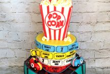 roller coaster bday cake