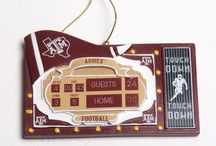 A Very Aggie Christmas / Exclusive Aggieland Outfitters ornaments, gifts, and more! An Aggie Christmas is the best Christmas!