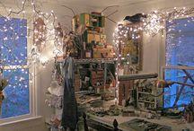 Studio: Lighting / Inspiration for lighting craft/art studios