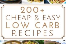 MORE CHEAP RECIPES WITH LOW CARB OPTIONS