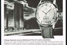 Vintage watch posters