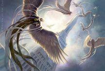 wings/demons/angel