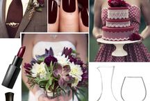 Burgundy wedding / by Martha Wango