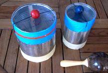 Instrumentos hechos a mano