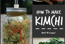 Food Preservation - Fermentation / All kinds of naturally fermented preserves! Yum!