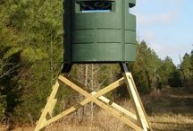 QDMA Shed: Hunting Blinds / by QDMA