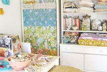Sewing room/Studio ideas